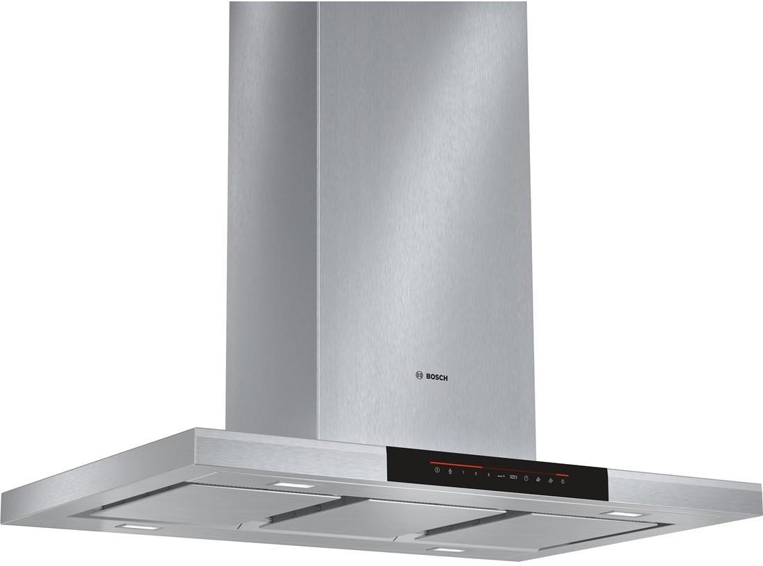 Bosch DIB091K50 Inselhaube, 90 Cm Breit, Ab  U0026 Umluft, Edelstahl, Dimm