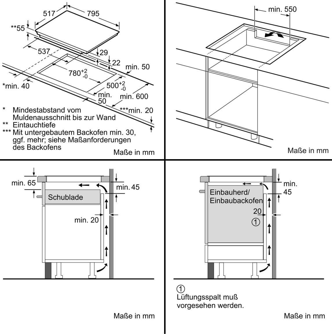 Beliebt Siemens EH845BFB1E iQ300 Autarkes Induktions-Kochfeld, Glaskeramik NU25