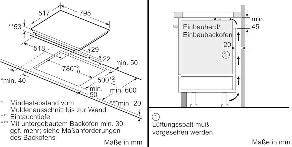 Neff Tbt4800n Autarkes Induktions Kochfeld Glaskeramik Edelstahl