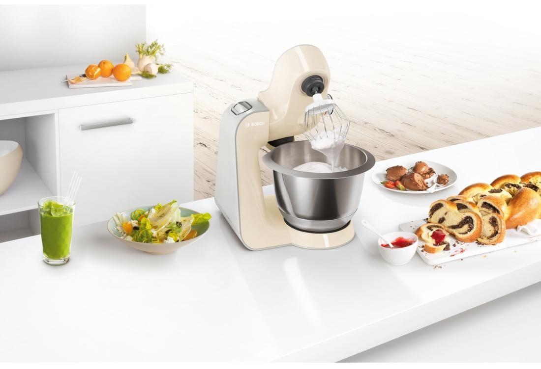 Bosch MUM58920 Küchenmaschine, 1000 W, 3D PlanetaryMixing & Easy ...