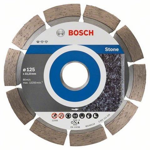 Bosch 2608603236 Diamant Trennscheibe Standard Stone 125 Mm 10