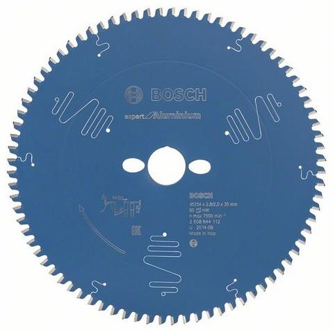BOSCH Alu Sägeblatt 254mm 60 TR-F für Tischkreissäge GTS 10 J 0601B30500