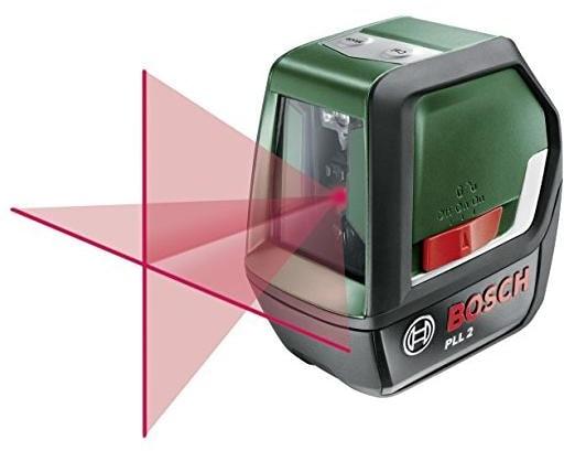 Bosch pll 2 kreuzlinien laser 0603663400 arbeitsbereich 10 m
