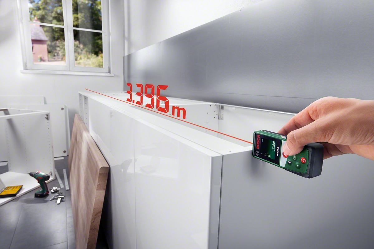 Makita Entfernungsmesser : Bosch plr 30c laser entfernungsmesser 0603672100 arbeitsbereich