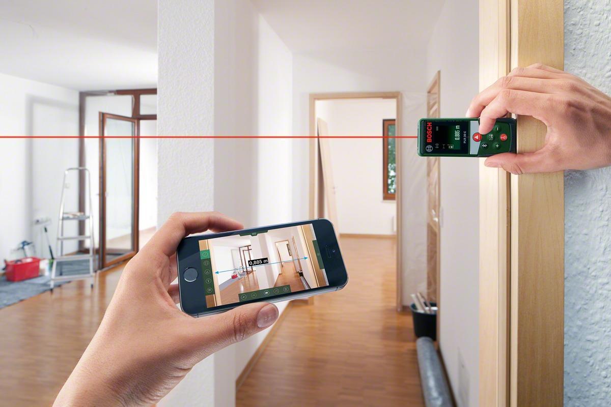 Bosch Laser Entfernungsmesser Zamo Ii : Bosch plr 30c laser entfernungsmesser 0603672100 arbeitsbereich
