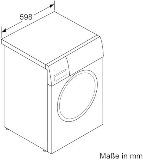 bosch waw32541 8 kg a waschmaschine 1600 u min. Black Bedroom Furniture Sets. Home Design Ideas