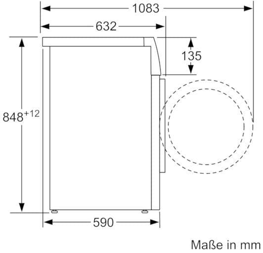 bosch waw32541 8 kg a waschmaschine 1600 u min ecosilence aquastop von bosch gro ger te. Black Bedroom Furniture Sets. Home Design Ideas
