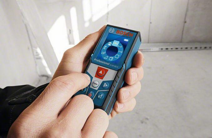 Laser Entfernungsmesser Neigungsmessung : Bosch glm c professional laser entfernungsmesser h