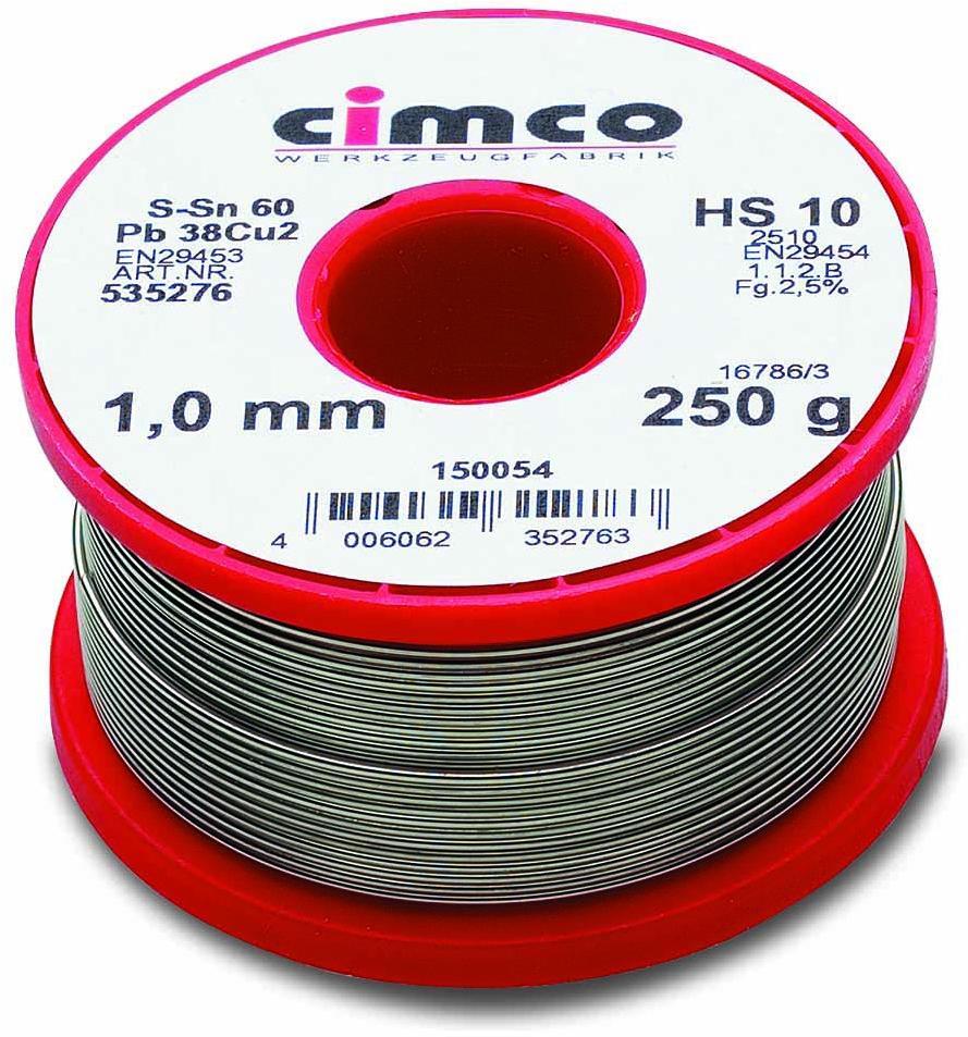 Cimco Lötdraht Ø1,5mm, 250g (150064) von Cimco bei Elektroshop Wagner