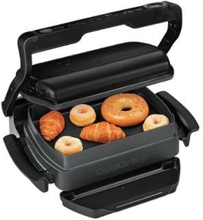 tefal gc7148 optigrill snacking baking kontaktgrill 6 grillprogramme garsensor schwarz. Black Bedroom Furniture Sets. Home Design Ideas