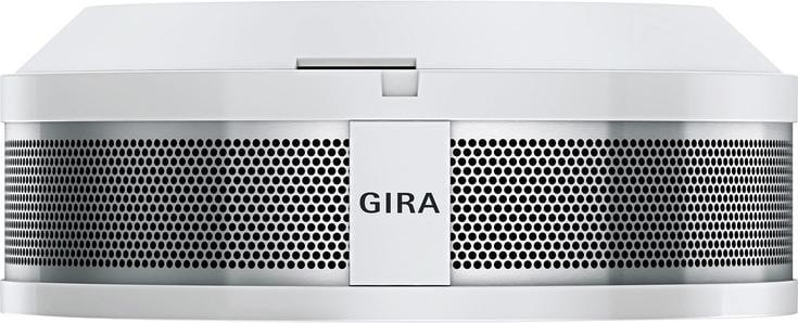 gira 241400 rauchwarnmelder dual q fest eingebaute batterie wei von gira rauchmelder bei. Black Bedroom Furniture Sets. Home Design Ideas