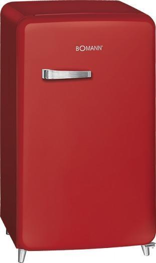 bomann ksr 350 eek a retro k hlschrank 121l abtauautomatik rot von bomann gro ger te bei. Black Bedroom Furniture Sets. Home Design Ideas