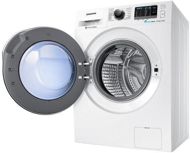 Samsung wd j aw eg waschtrockner eek a kg weiß von