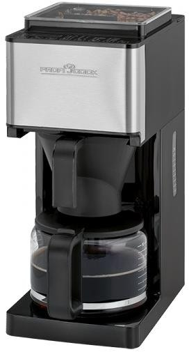 proficook pc ka 1138 kaffeeautomat mit mahlwerk 8 10 tassen sensortouch led display. Black Bedroom Furniture Sets. Home Design Ideas