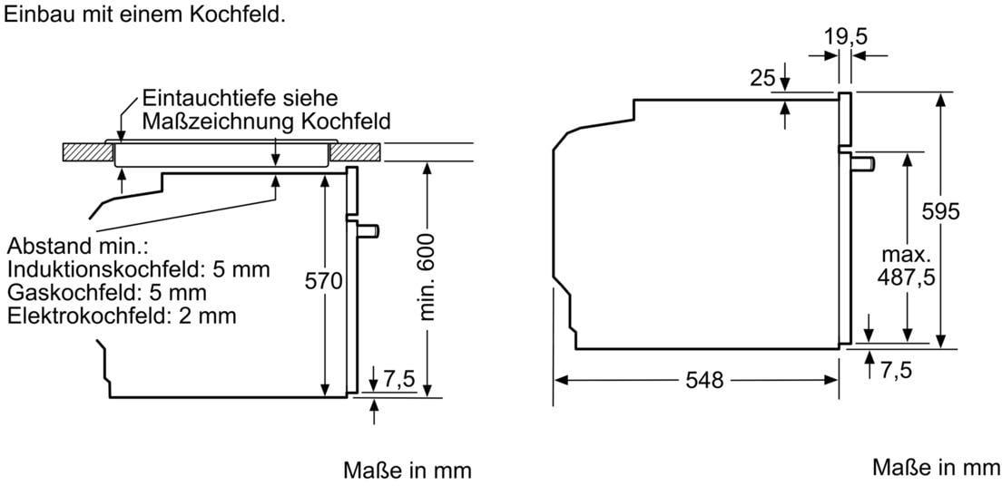 Siemens Hb578abs0 Eek A Einbau Backofen Activeclean Cookcontrol30