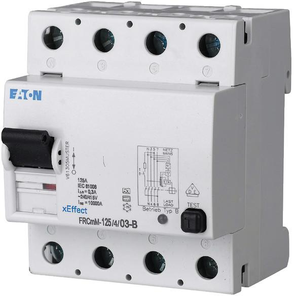 Eaton FRCMM125403B FI-Schalter, 125A, 4p, 300mA, TypB (171186) von ...