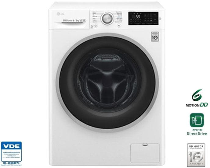Lg f14wd85tn1 8 kg 5 kg eek: a waschtrockner 1400 u min