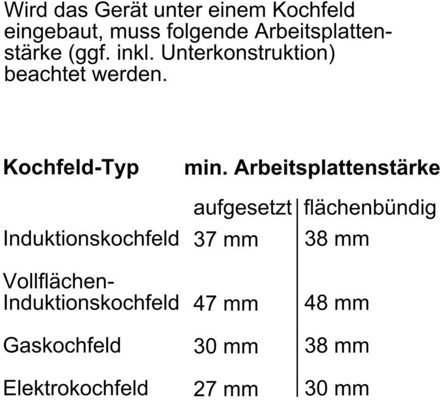Neff Bcc3622 B3cce2an0 Eek A Einbau Backofen 71 Liter