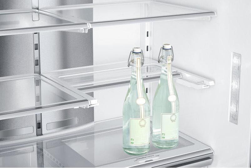 Side By Side Kühlschrank Mit Schubladen : Samsung rf j sr a side by side kombination total nofrost