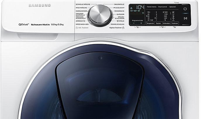 Samsung wd8an642oow eek:a waschtrockner 8 kg 5 kg 1400 u min