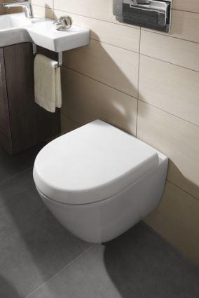 Relativ Villeroy & Boch Subway 2.0 WC-Sitz Compact mit QuickRelease und LX95