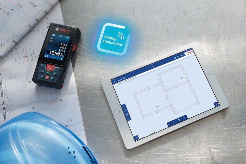 Iphone Als Entfernungsmesser : Bosch glm c professional laser entfernungsmesser zubehör set