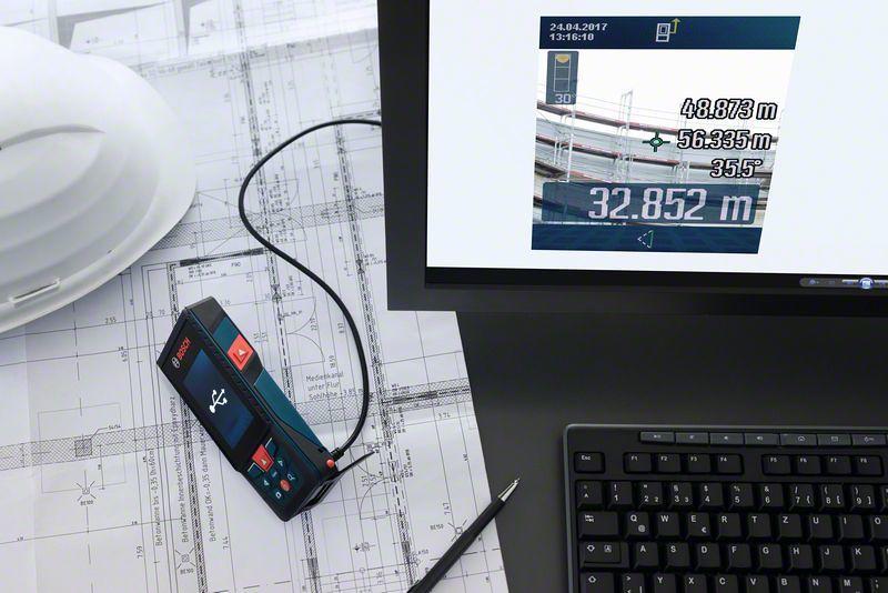 Bosch Entfernungsmesser Glm 120 C : Bosch glm c professional laser entfernungsmesser zubehör set