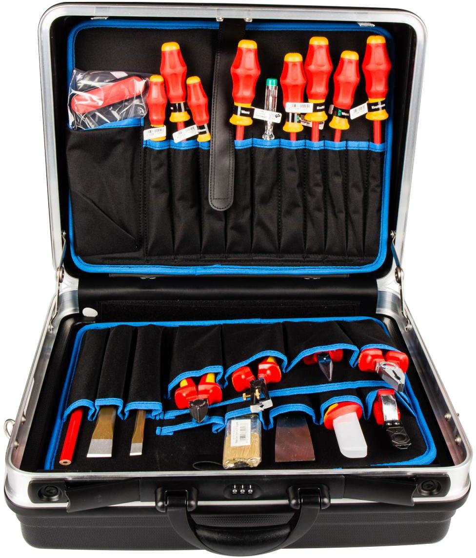 knipex werkzeugkoffer 002105hls 24 tlg von knipex bei elektroshop wagner. Black Bedroom Furniture Sets. Home Design Ideas