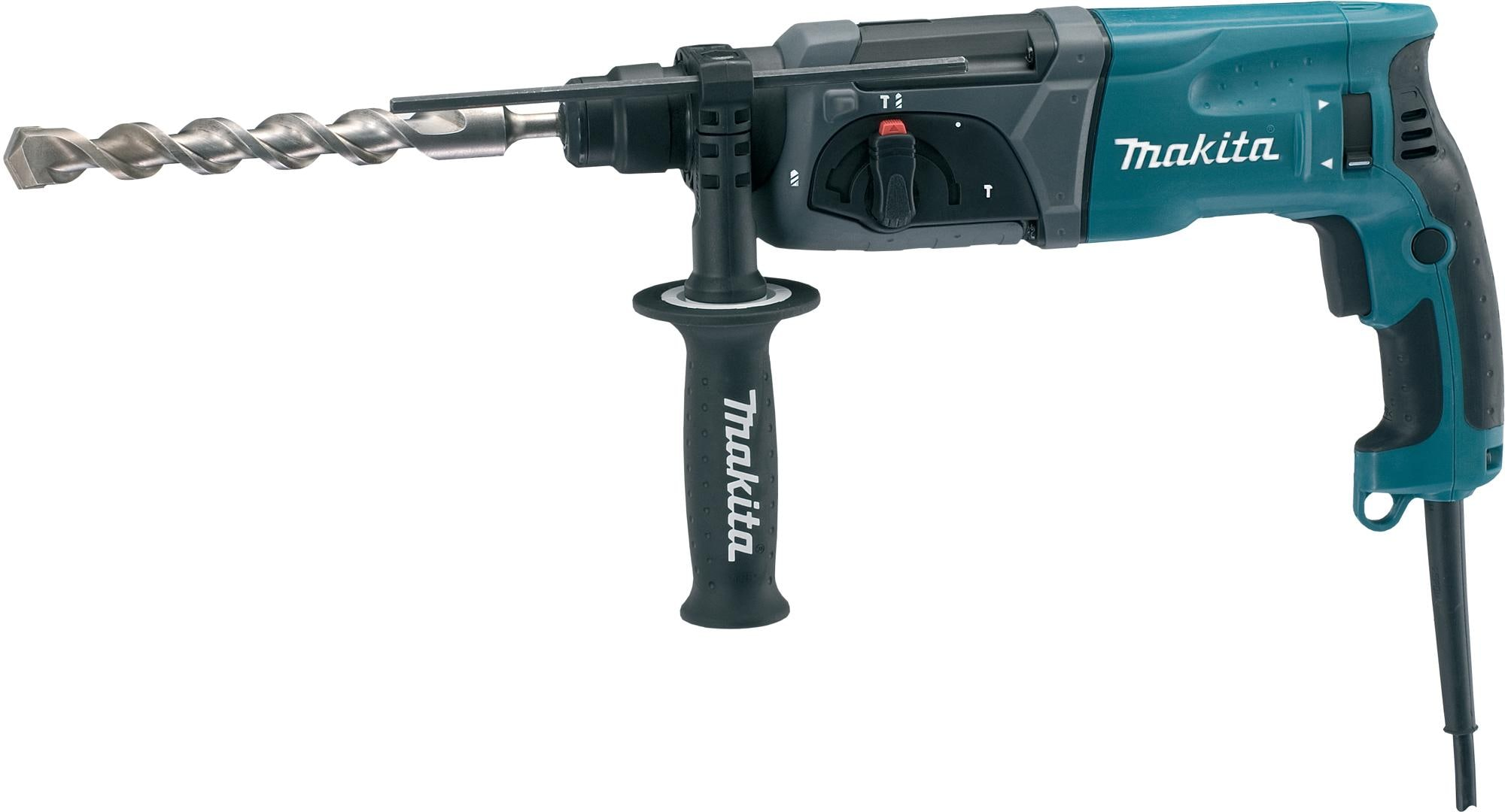 makita hr2470 bohrhammer sds plus 780 w inkl transportkoffer von makita bei elektroshop wagner. Black Bedroom Furniture Sets. Home Design Ideas
