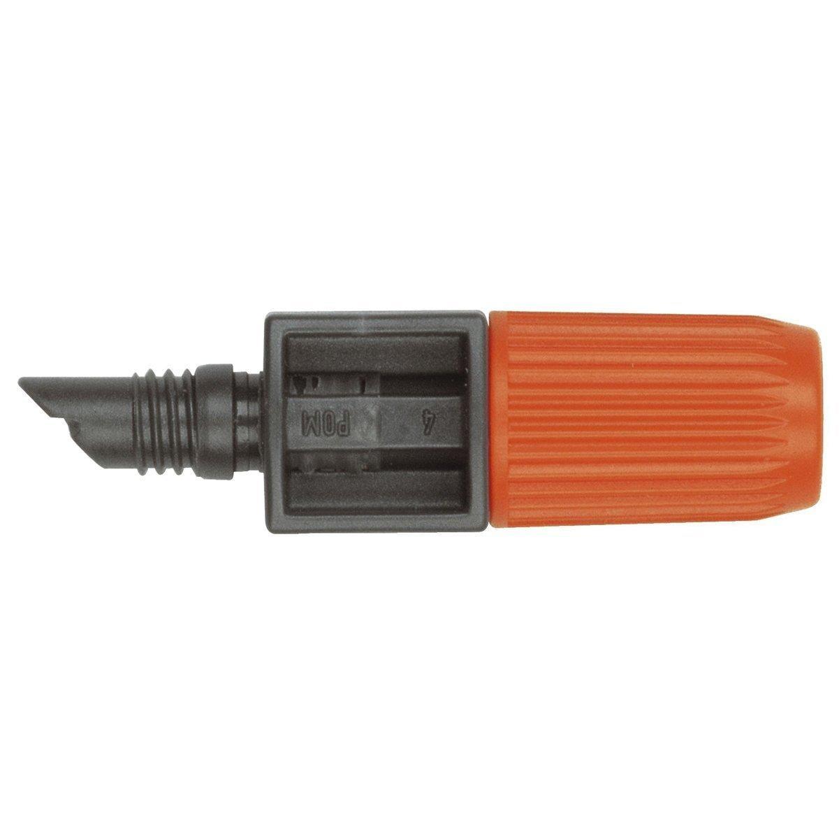 micro drip system endtropfer gardena 1391 20 regulierbar von gardena bei elektroshop wagner. Black Bedroom Furniture Sets. Home Design Ideas