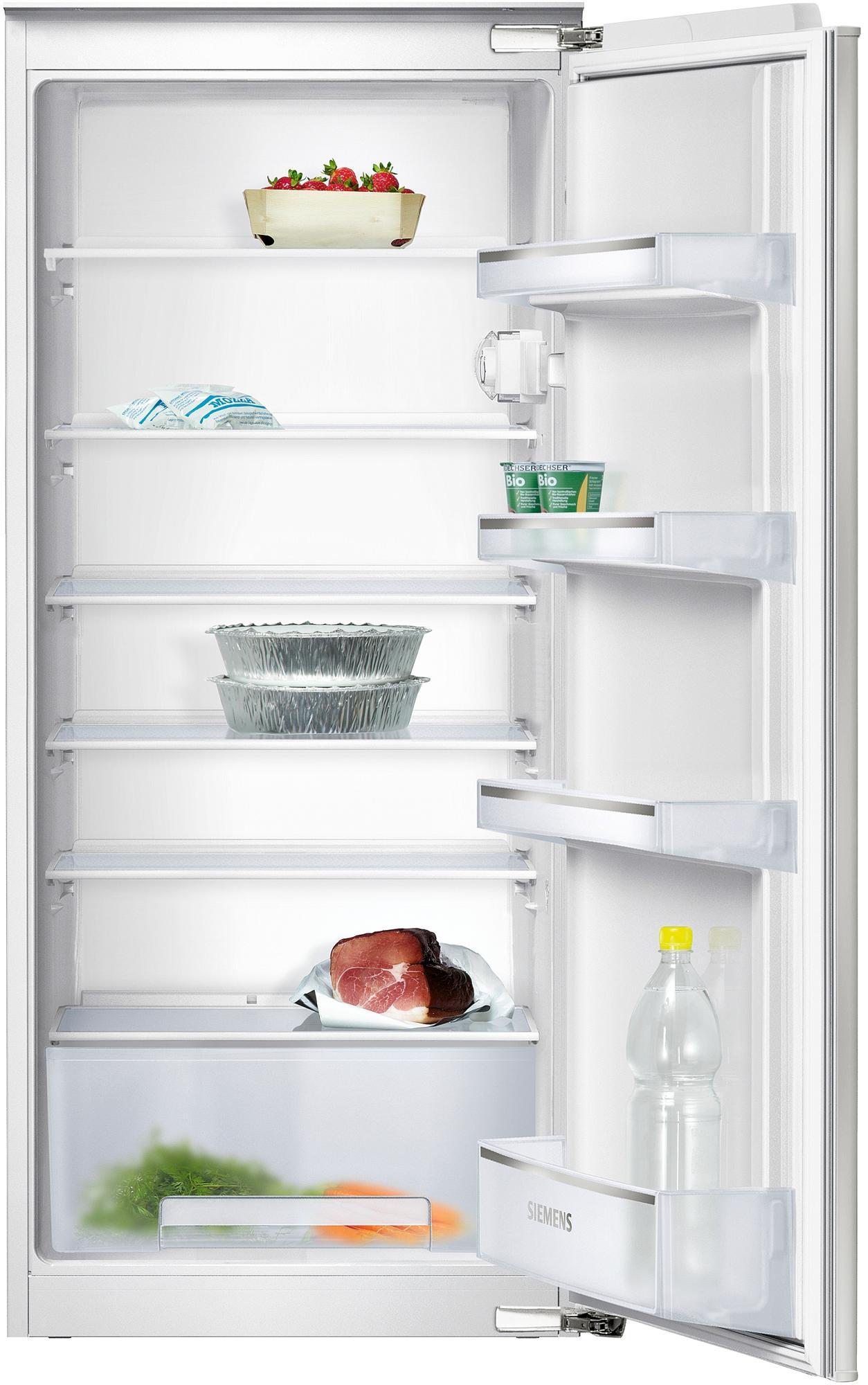 Siemens ki24rv60 iq100 a integrierbarer kuhlschrank for Integrierbarer kühlschrank
