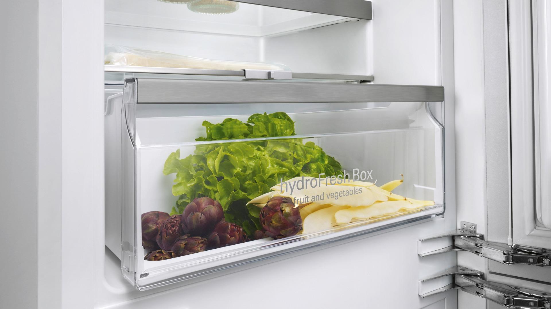 Siemens Kühlschrank Vitafresh : Siemens ki nad a einbau kühl gefrierkombination weiß