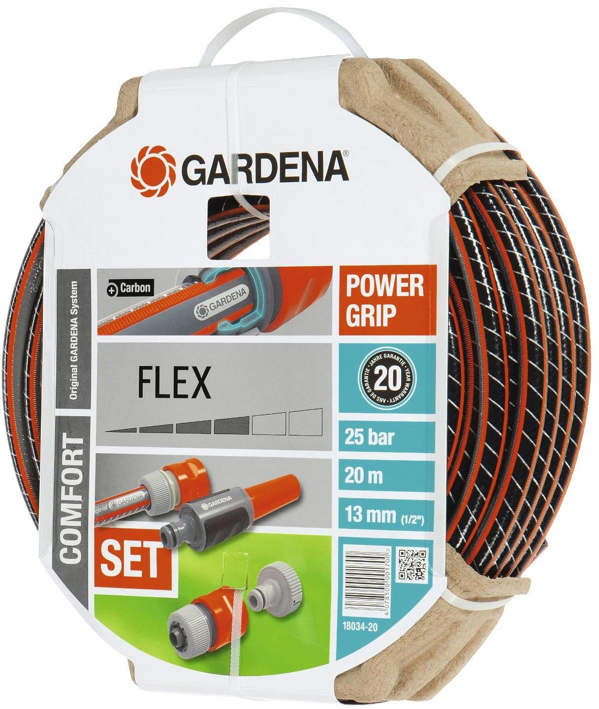 comfort flex schlauch 13 mm gardena 18034 20 1 2 20m. Black Bedroom Furniture Sets. Home Design Ideas