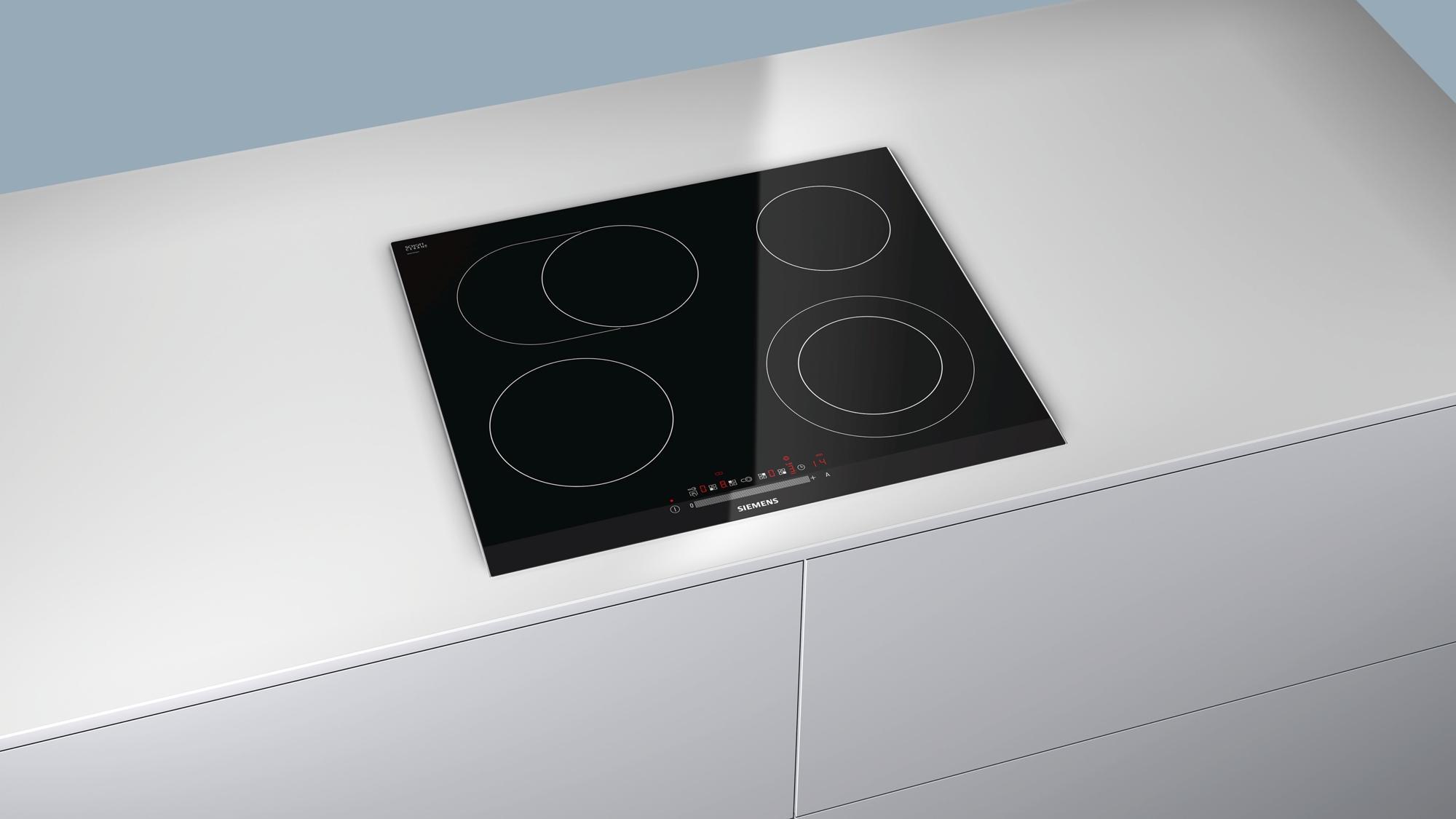 siemens et675fn17e autarkes elektro kochfeld glaskeramik 60 cm breit facetten design sensor. Black Bedroom Furniture Sets. Home Design Ideas