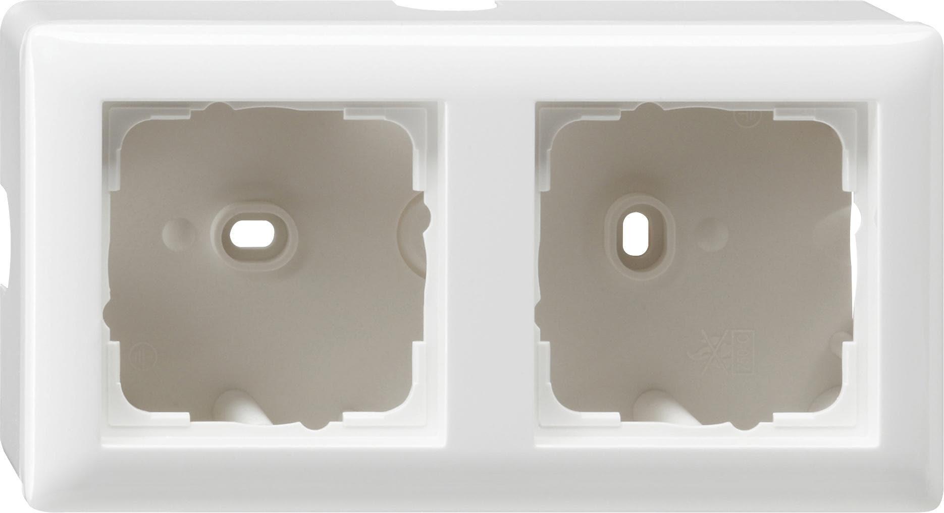 Hervorragend GIRA System 55 Standard Aufputzgehäuse | System 55 Standard Rahmen  GW75