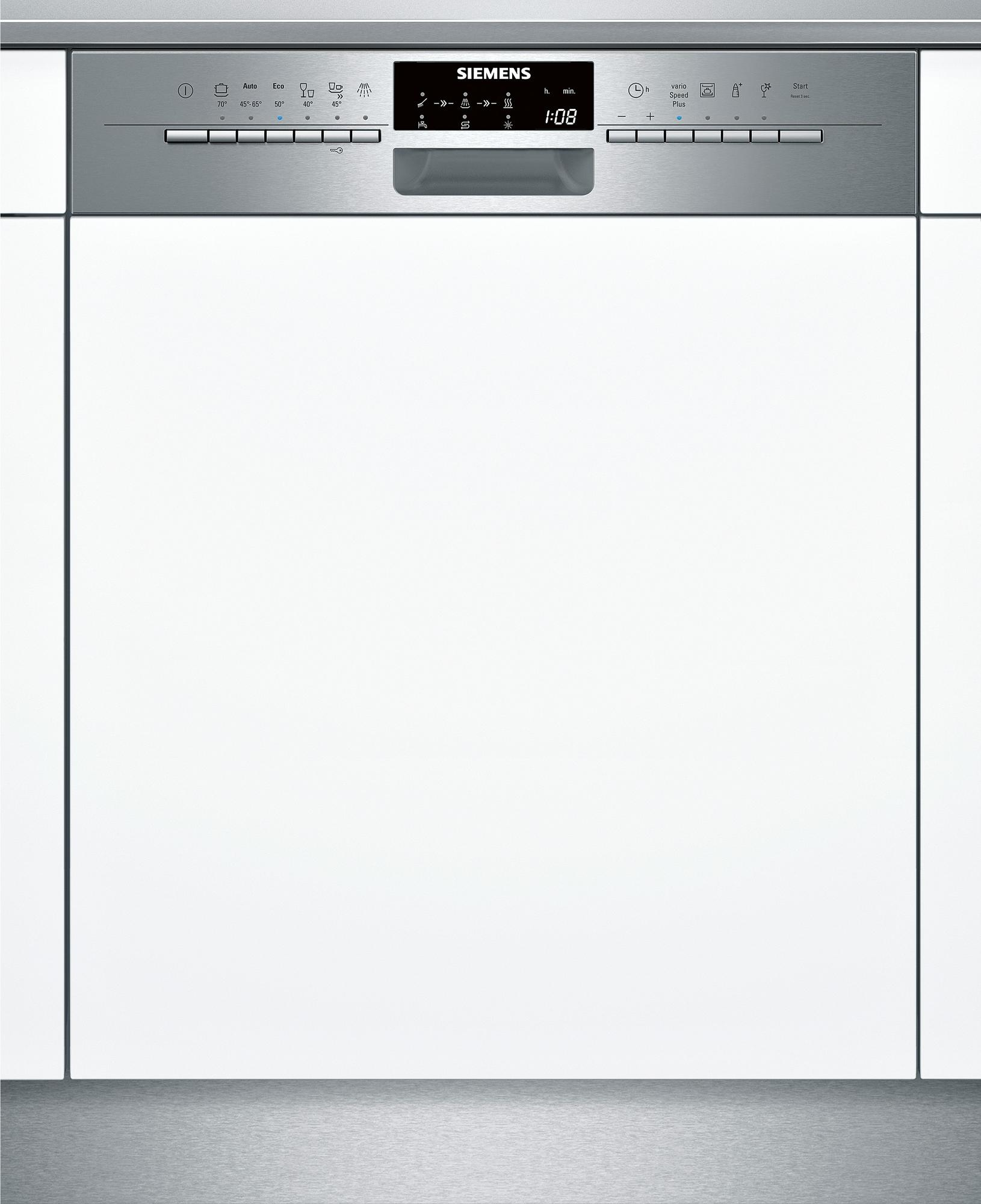 siemens sn56p592eu a integrierbarer geschirrsp ler 60 cm breit edelstahl 14 ma gedecke. Black Bedroom Furniture Sets. Home Design Ideas