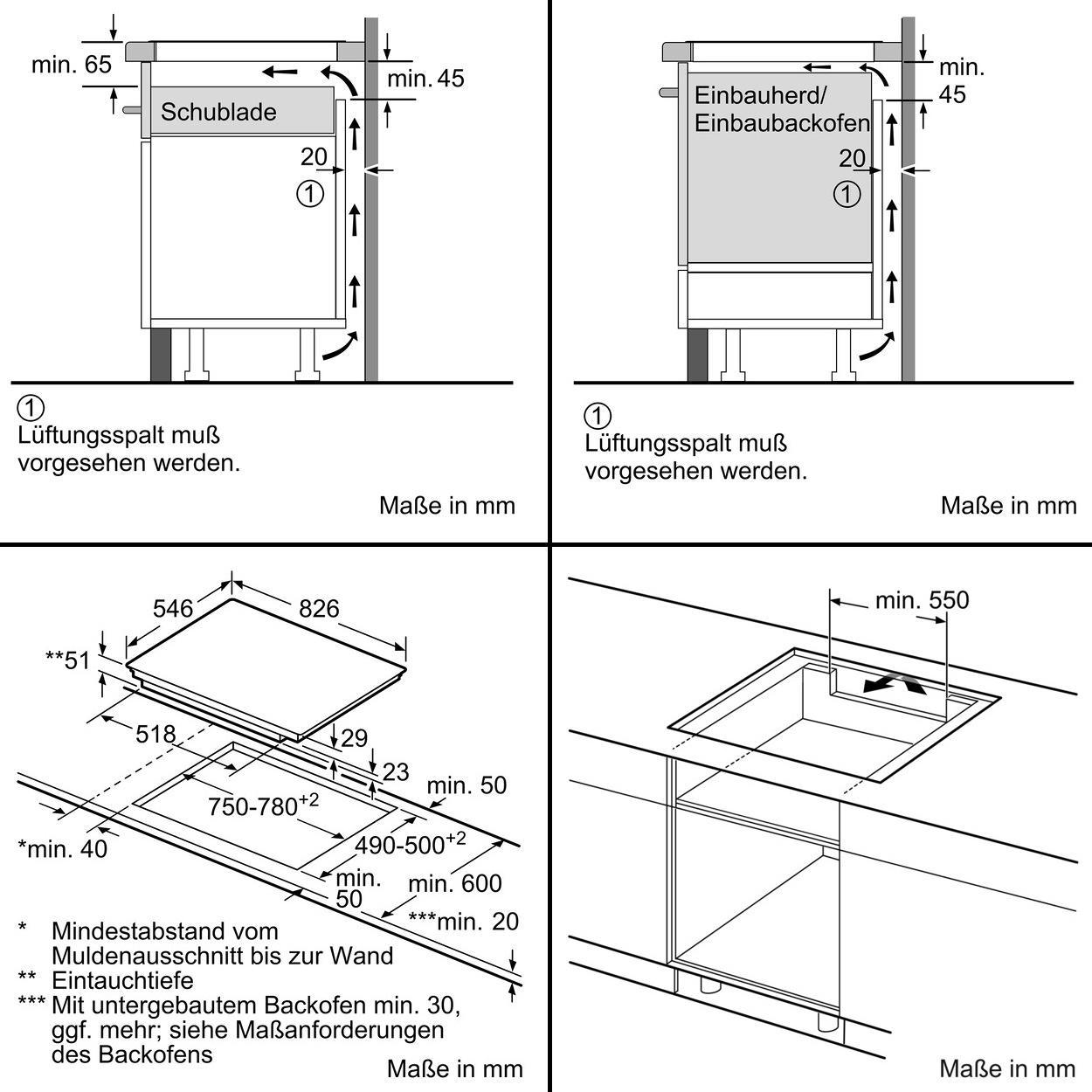 neff ttt6860n t68tt60n0 autarkes induktions kochfeld glaskeramik edelstahlrahmen 80 cm. Black Bedroom Furniture Sets. Home Design Ideas