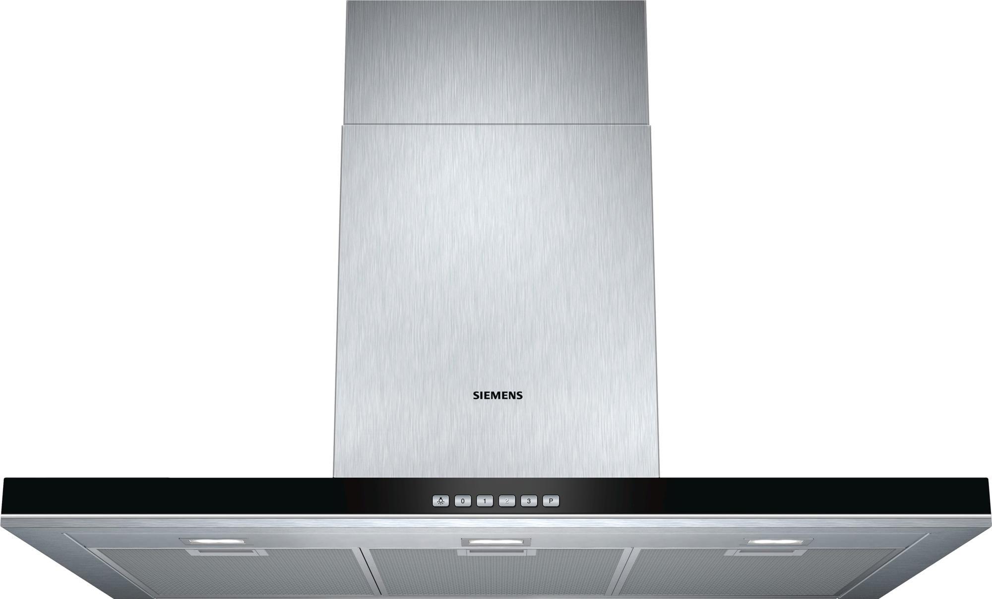Siemens lc97bf532 iq700 wandhaube 90 cm breit ab & umluft