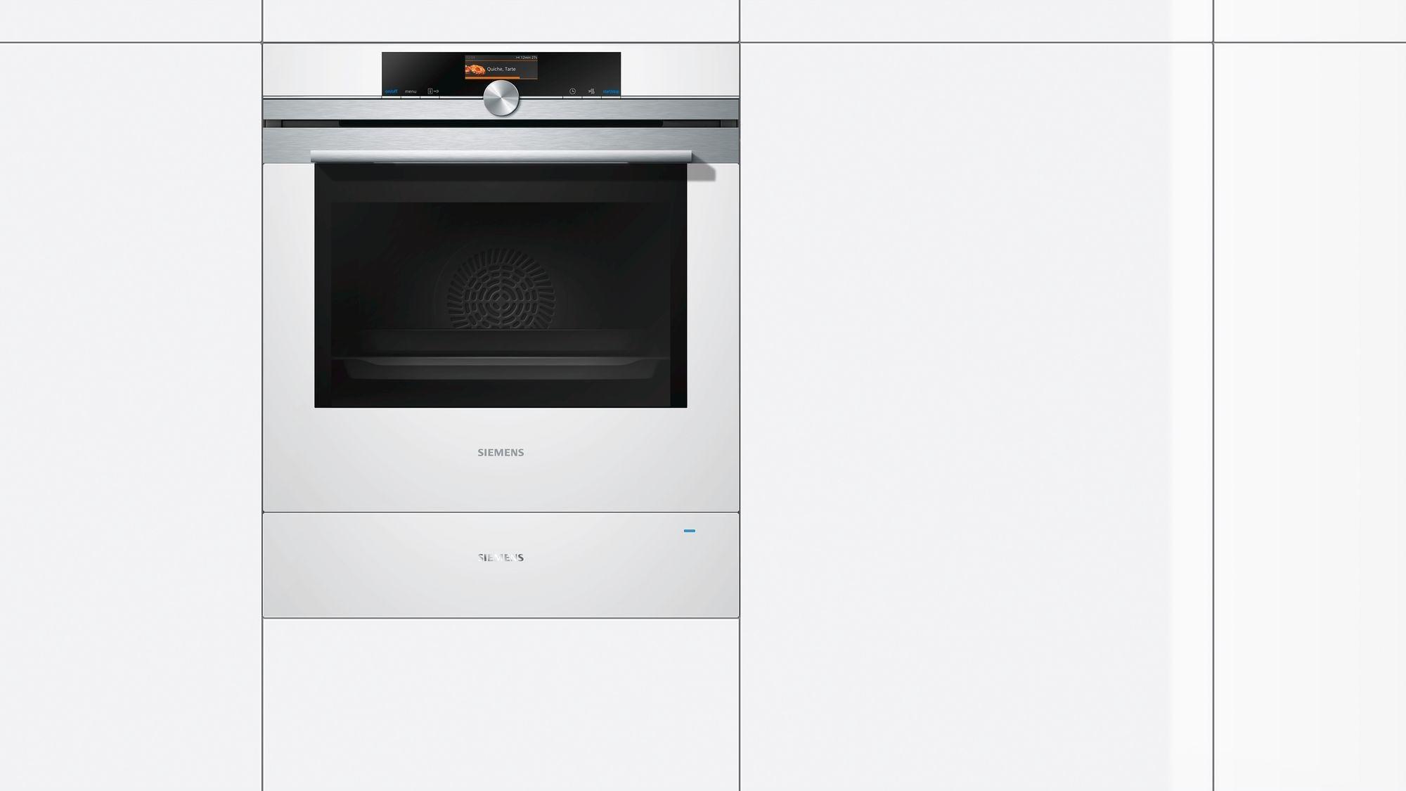 Siemens BI630CNW1 IQ700 Wärmeschublade, 20l, 14 Cm Hoch