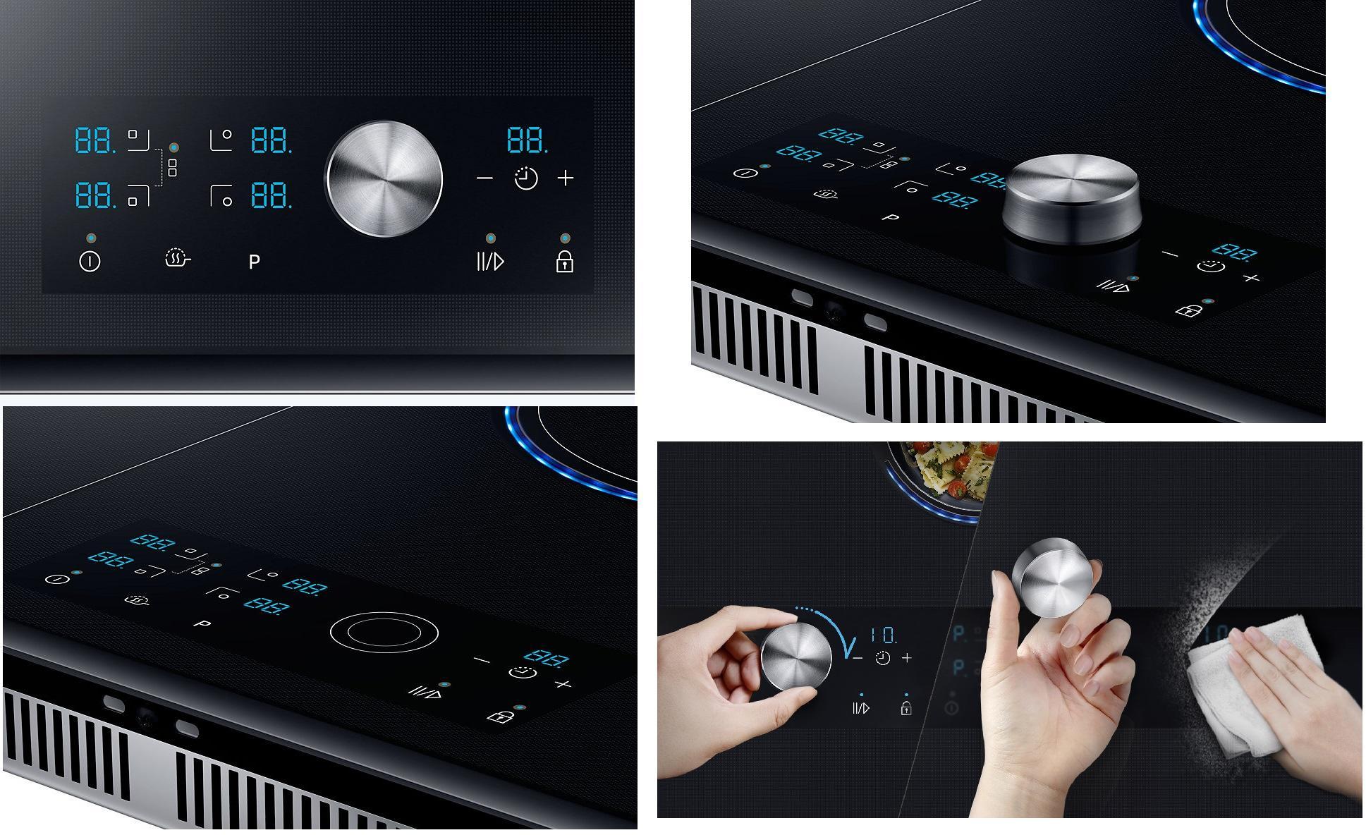 Samsung Nz84j9770ek Autarkes Induktions Kochfeld Glaskeramik