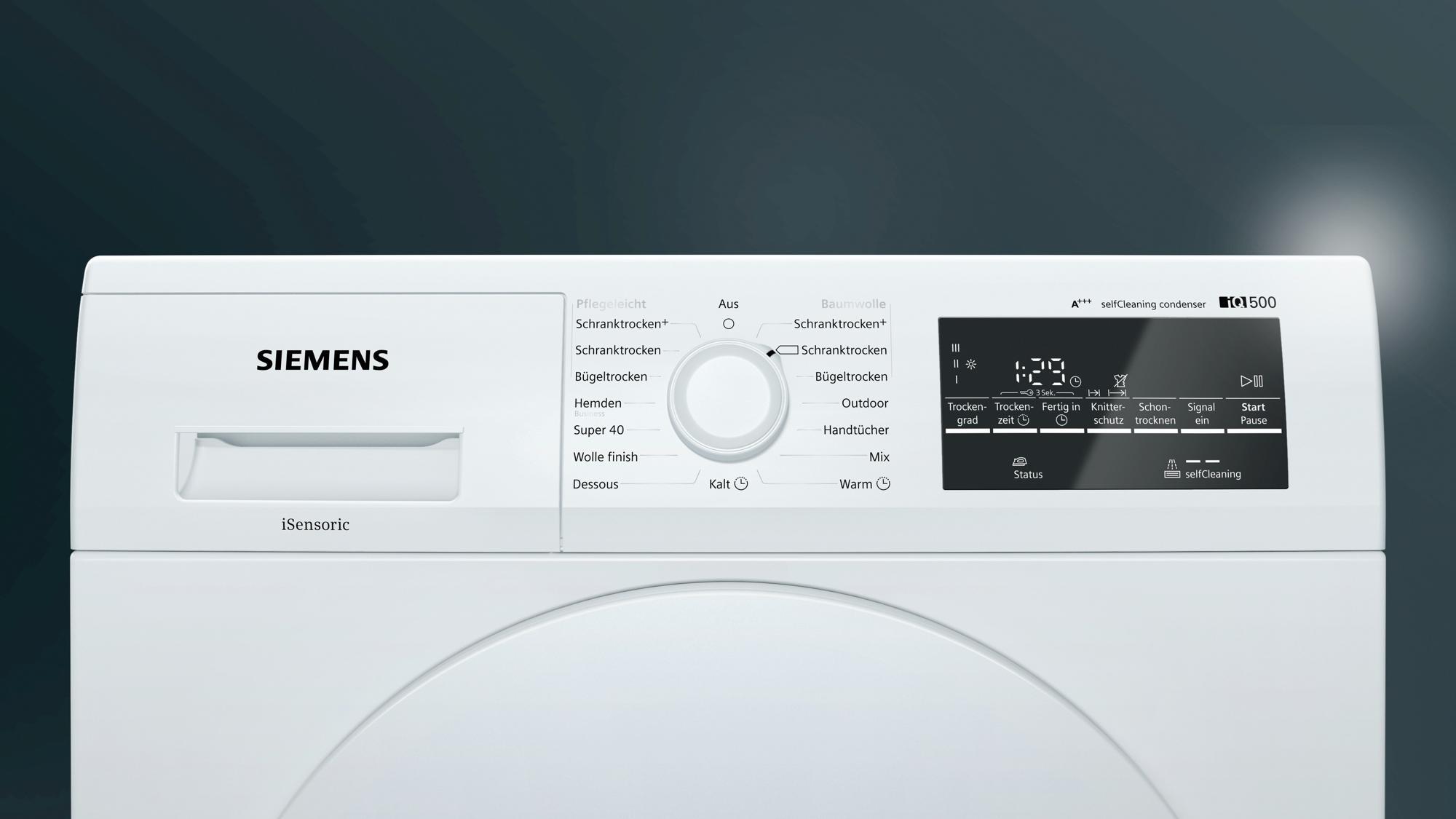 Wärmepumpentrockner Candy 7kg : Siemens wt w kg a wärmepumpentrockner led display von