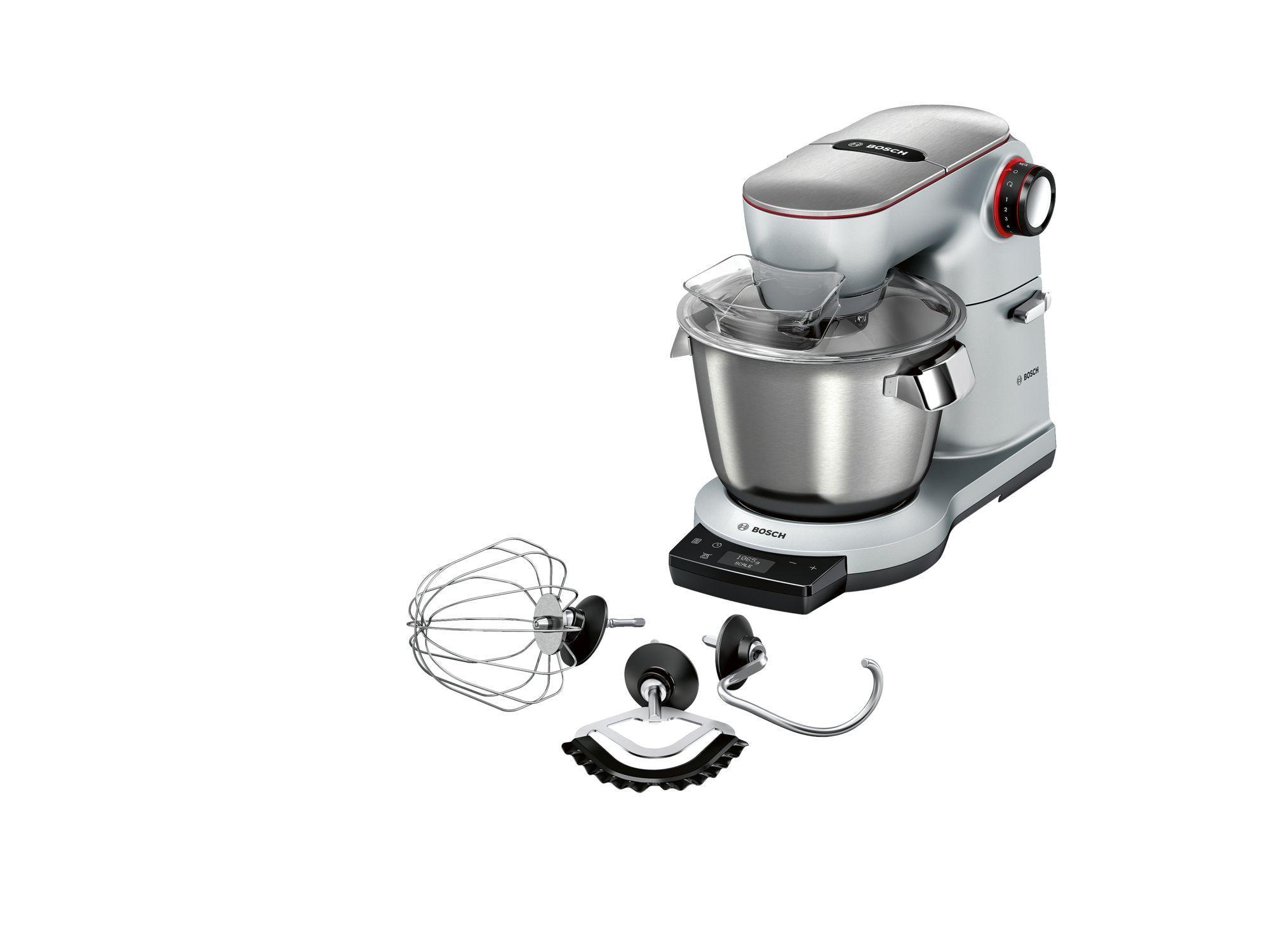 Bosch MUM9AX5S00 Küchenmaschine, 1500 W, 3D PlanetaryMixing ...