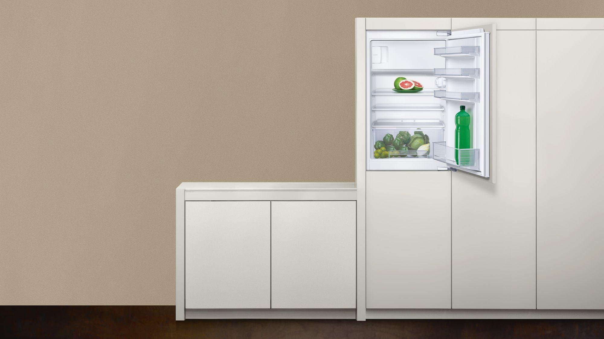 Kühlschrank Integrierbar A : Neff k a a integrierbarer kühlschrank cm breit