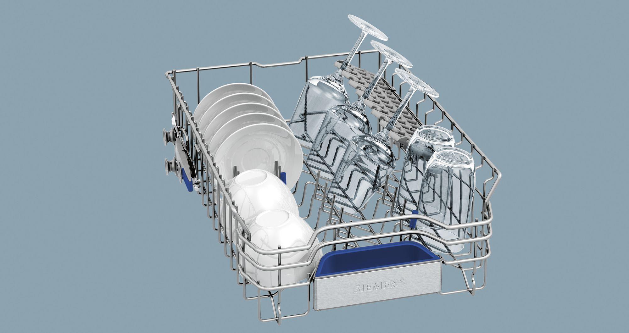 ... AquaStop Siemens SR66T098EU A+++ Vollintegrierbarer Geschirrspüler, 45  Cm Breit, 10 Maßgedecke, ...