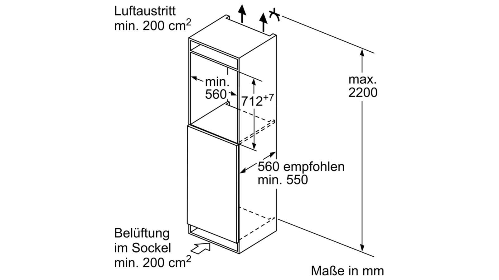 bosch giv11ad40 a einbau gefrierschrank 72er lowfrost von bosch gro ger te bei elektroshop. Black Bedroom Furniture Sets. Home Design Ideas