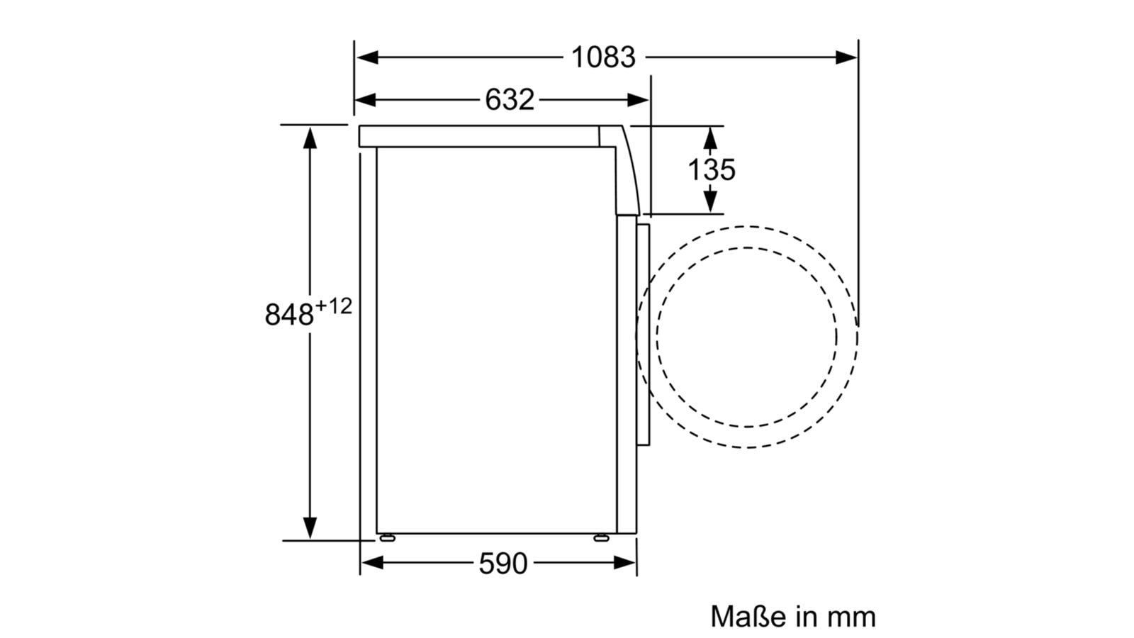 Häufig Bosch WAW28500 9kg A+++ Waschmaschine, 1400U/Min, EcoSilence Drive XS53