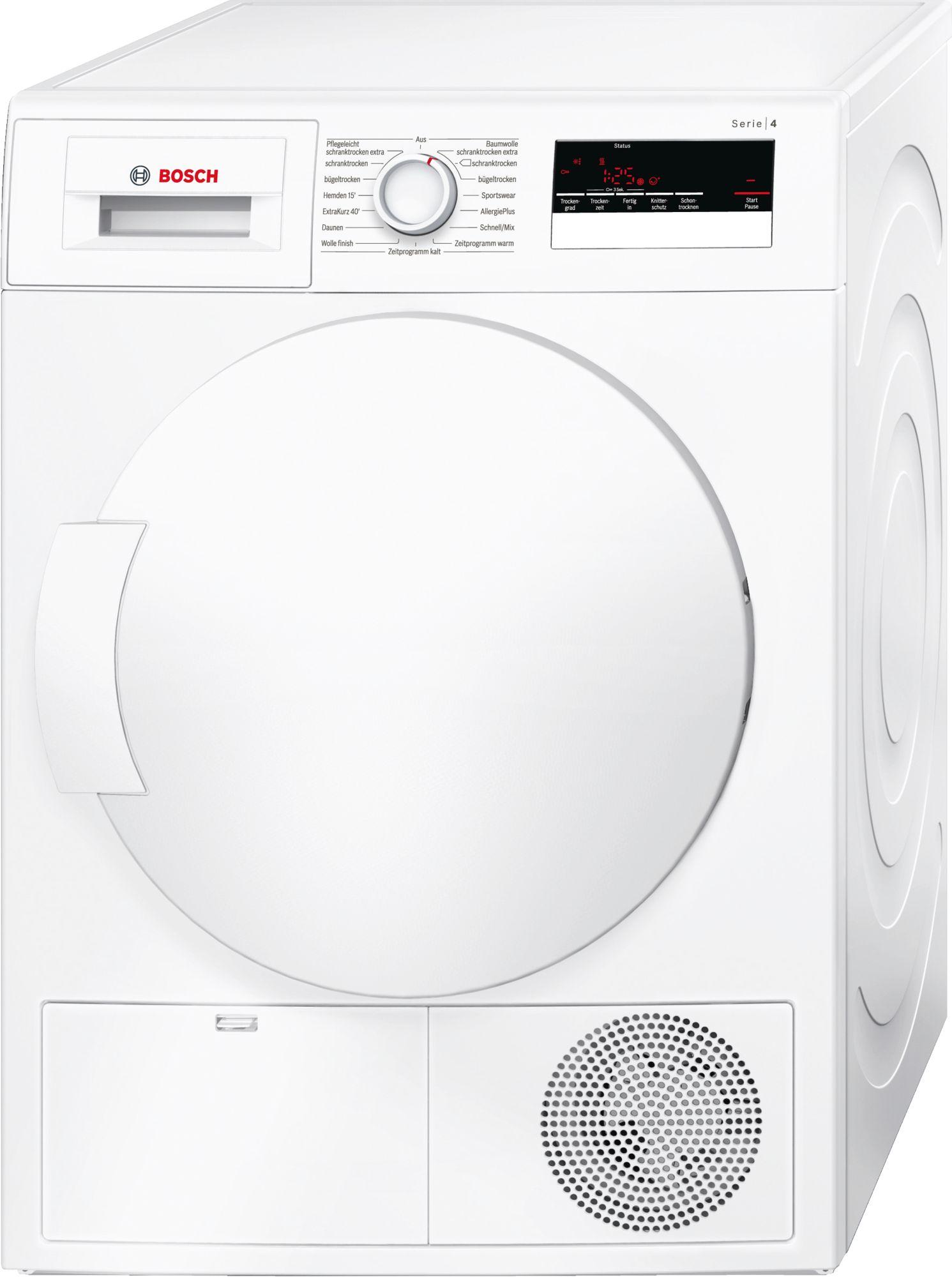 Bosch Wtn83200 Luftkondensations Waschetrockner Led Display