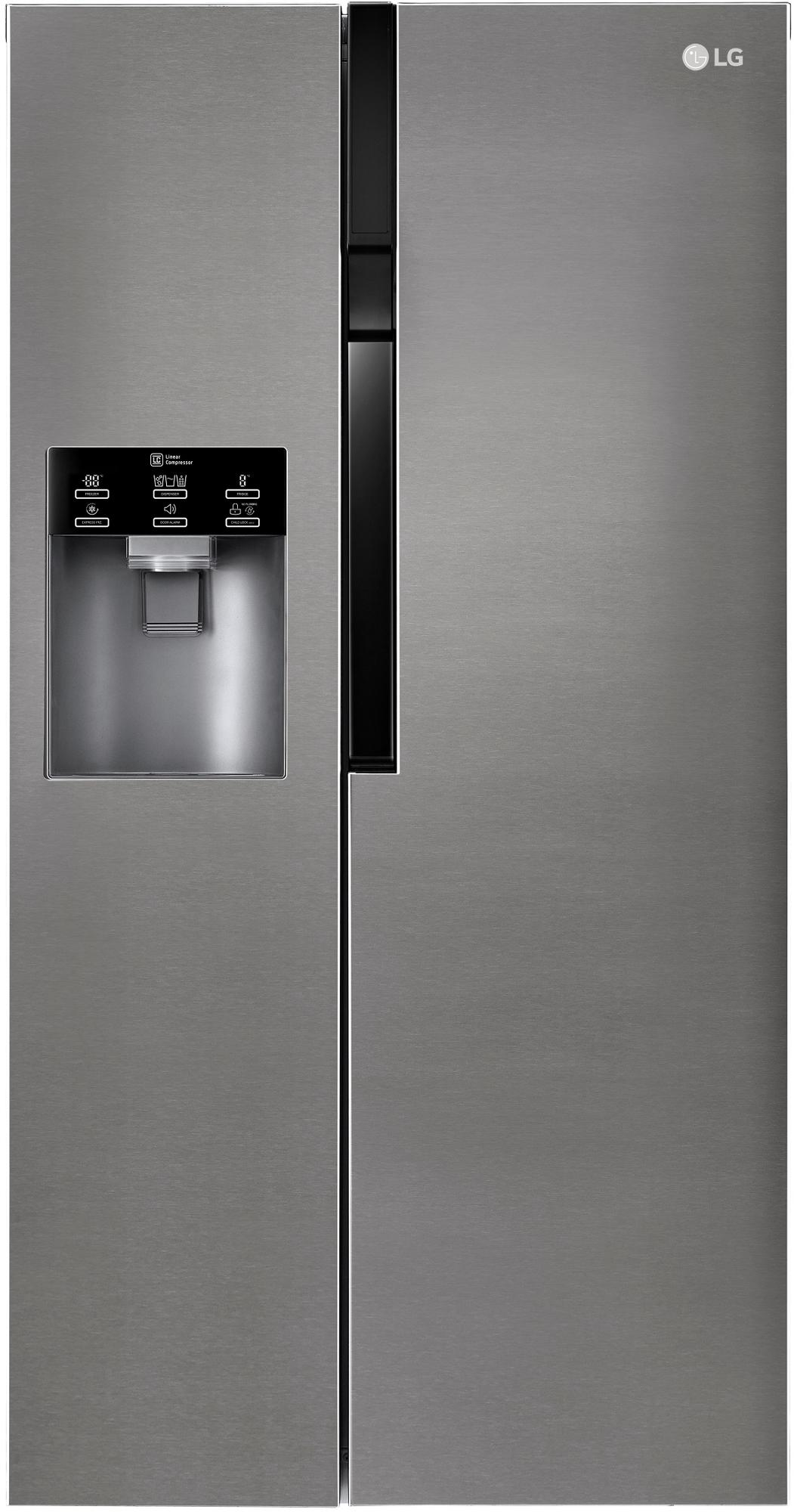 LG GSL361ICEZ A++ Side By Side, Dark Graphit, No Frost, Door