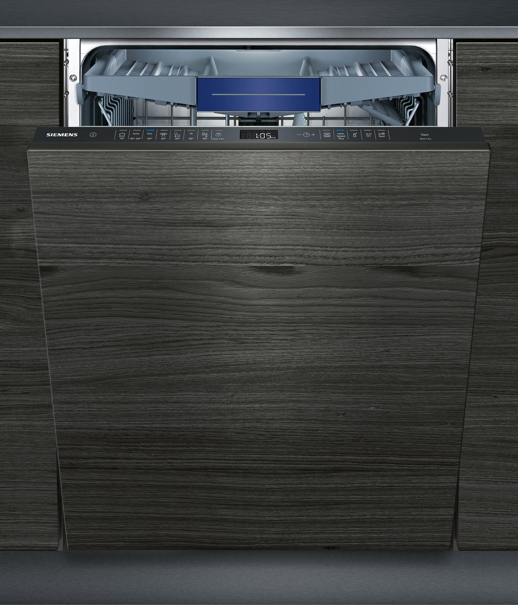 siemens sx658d02me a vollintegrierbarer einbau geschirrsp ler 60cm breit braun varioflex. Black Bedroom Furniture Sets. Home Design Ideas