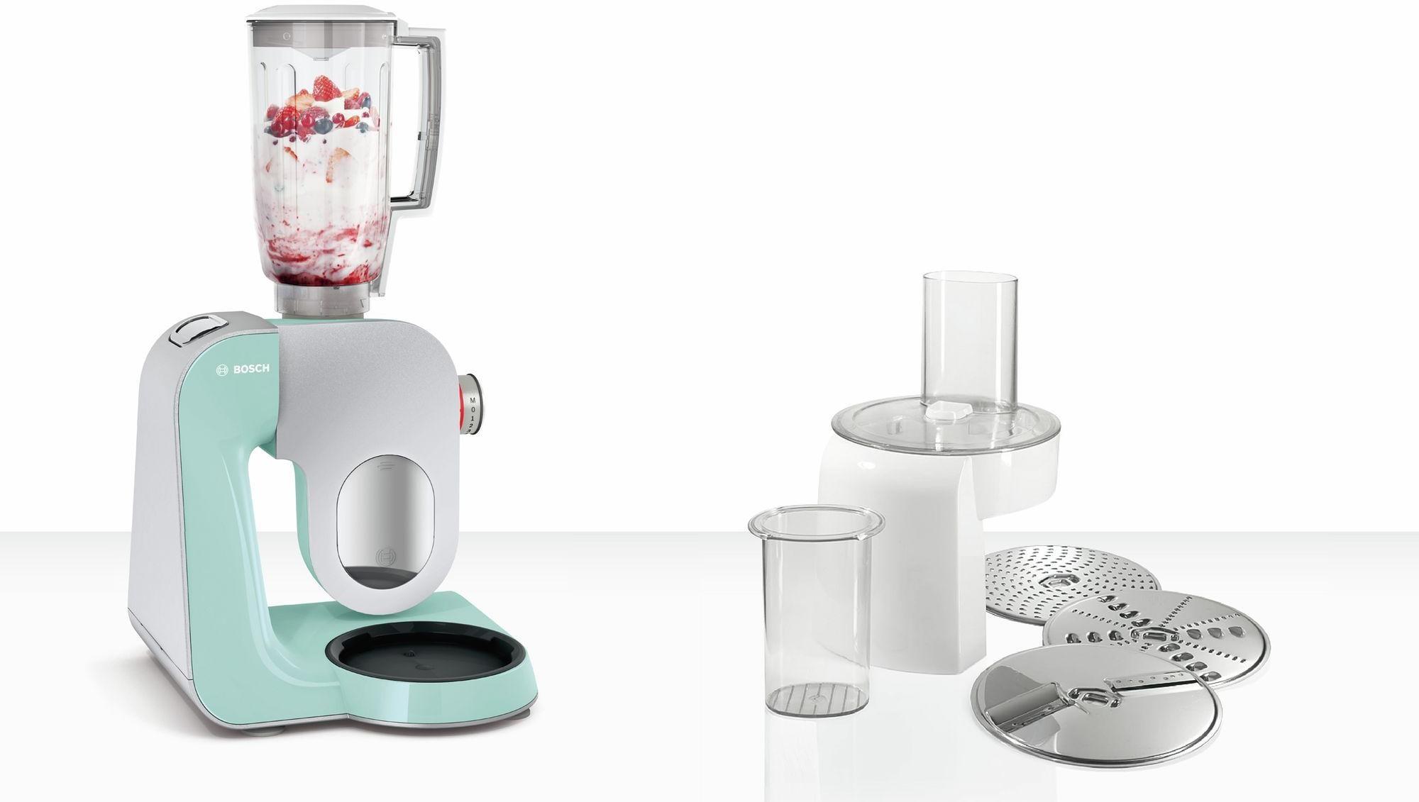 Bosch MUM58020 Küchenmaschine, 1000 W, 3D Rührsystem & EasyArmLift ...